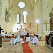 Esküvő a Bélapátfalvai Ciszterci Apátságban