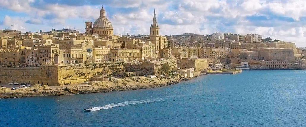 Eljegyzés Máltán - Valletta